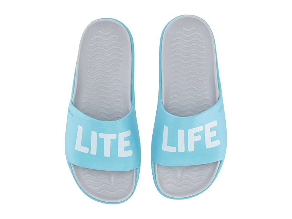 Native Shoes Spencer LX (Hamachi Blue/Mist Grey/Lite Life) Sandals