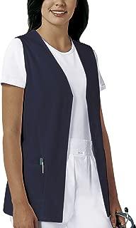 Button Front Scrub Vest