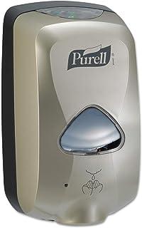 PURELL TFX Hand Sanitizer Touch Free Dispenser, Nickel Finish, Dispenser for 1200 mL PURELL