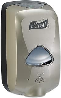 Purell TFX Hand Sanitizer Touch Free Dispenser, Nickel Finish, Dispenser for 1200 mL TFX Sanitizer Refills – 2780-12