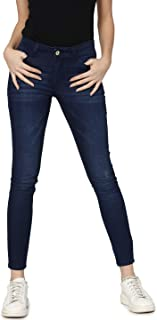 JACQUELINE de YONG by ONLY Jeans W26 L32 blue used destroyed skinny neu
