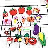 QAZW Fibbia per Scarpe in Cartone Animato Ornamenti per Scarpe Accessori per Fibbia per Scarpe in Gomma per Bambini Bracciale in PVC per Cinturini in Cartone Animato Ornamenti,A-100Pcs