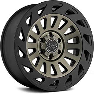 Black Rhino MADNESS Black Wheel with Painted Finish (17 x 9. inches /5 x 127 mm, 12 mm Offset)