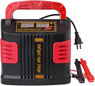 Meatyhjk 350W 14A Auto Plus Ajustar LCD cargador de batería
