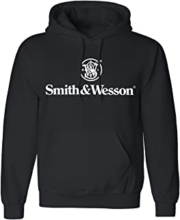 Smith & Wesson Authentic Logo Pullover Hoodie - Officially Licensed