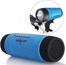 Bluetooth Bicycle Speaker Zealot S1 Bike Cycling Portable Speakers Waterproof, 4000mAh..