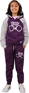 Kids Tracksuit Boys Girls Designer's Pedal Power Jogging Suit Top Bottom 7-13 Yr