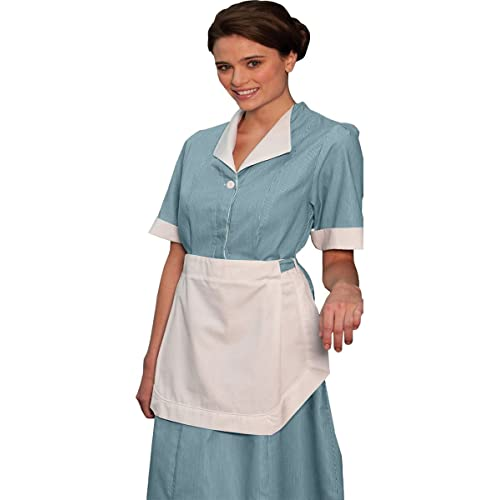 Edwards Womens Junior Cord Housekeeping Dress, TEAL, ...