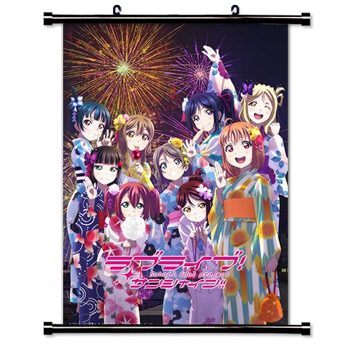 MovieWallscrolls Love Live Sunshine. Póster de Tela de Anime con pergamino de Pared (16 x 23 Pulgadas) [A] Love Live Sunshine-67