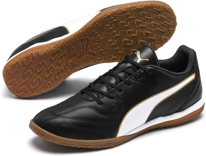 PUMA Capitano II Indoor shoes Black White