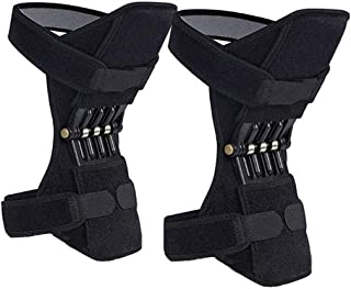 Breathable Joint Support Knee Pads Recovery Brace, Protective Sports Knee Stabilizer Pads Power Knee Stabilizer Protector Band for Mountaineering Deep Care Squat Gym Training