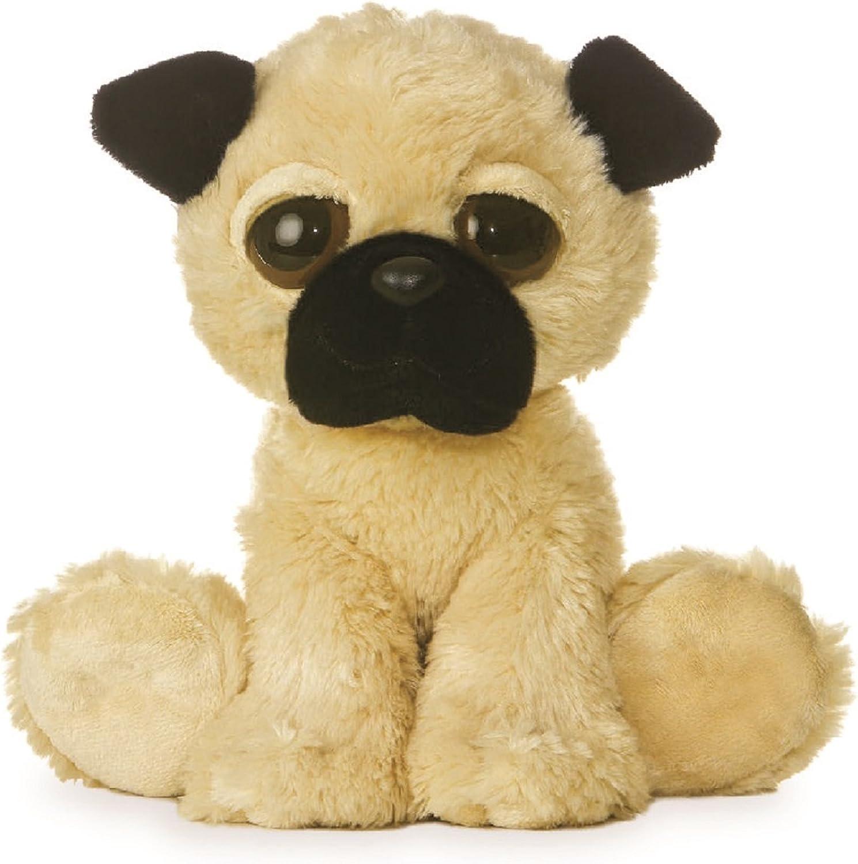 Aurora 12-inch Dreamy Eyes Soft Toy Pug