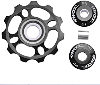 11T Jockey Wheel Rear Derailleur Pulley with Ceramic Bearing for Mountain Bike Road Bicycle Replacement Parts