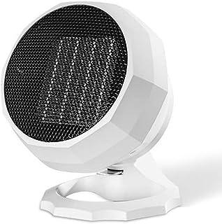 Lucky-cl Mini Calefactor Eléctrico Ventilador De Aire Personal,Calentador Portátil PTC Elemento De Cerámica para Hogar Y Oficina Protección del Sobrecalentamiento Bajo Consumo Silencioso