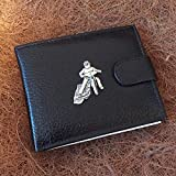 Really Useful Gifts - Funda para Tarjetas de crédito, diseño de Bicicleta de Carreras de Peltre Antiguo