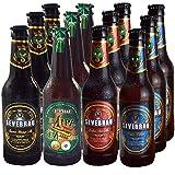 Pack de Degustación Cervezas Artesanales 3 Serona Strong Ale, 3 EX IPA Seveboris, 3 Castua ESB, 3 Pilsen