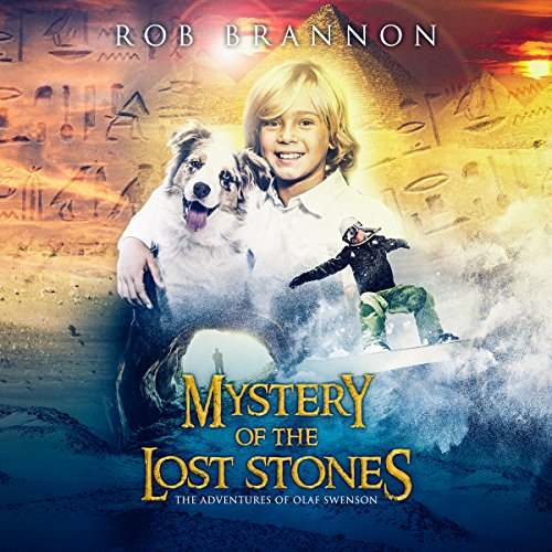 Mystery of the Lost Stones audiobook cover art