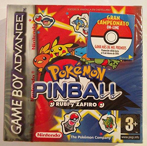Pokemon Pinball Rubi y Zafiro