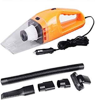 Cotchear Wet and Dry Car Vacuum Cleaner, 120w Car Home Dual-use Handheld Vacuum Cleaner with 5 Meter Power Cord