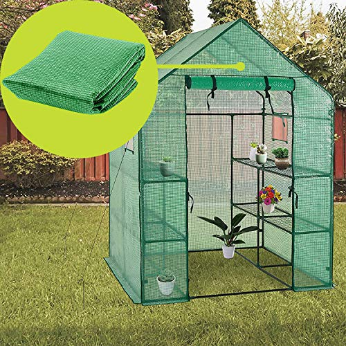 Greenhouse Replacement Cover-56' W x 56' D x 77' H