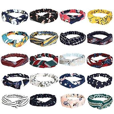 20 Pcs Boho Headbands