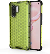 For VIVO X30 / X30 Pro Shockproof Honeycomb PC + TPU Case New(Red) LKay (Color : Green)