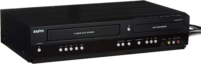 Sanyo DVD Recorder/VCR Combo 2-way recording