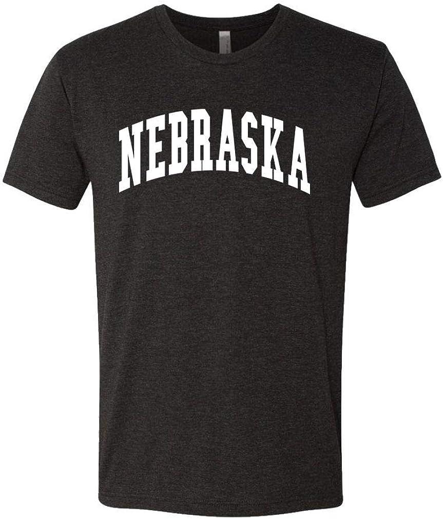 The Goozler Nebraska - USA America State Pride Patriotic - Mens Cotton T-Shirt
