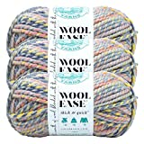 (3 Pack) Lion Brand Yarn 640-547 Wool-Ease Thick & Quick Yarn, Dreamcatcher