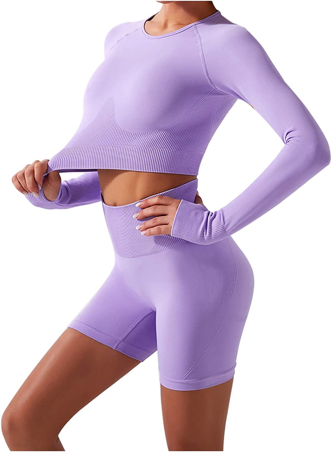 Gwewei4df Women's Yoga Suit Tulsa Mall D Max 76% OFF Running Fitness Quick