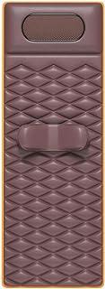 ZFDD Manta Masaje Cuerpo Completo, Colchón Masaje, Estera Masaje Shiatsu Multifunción con Estera Masaje Eléctrico Calor Silla Manta Cojín Cuerpo Calmante Estera (Color : Brown)