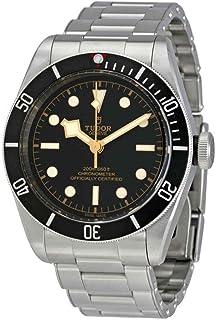 ساعت سنج مردانه Tudor Heritage Black Chronometer مردانه شماره گیری مشکی اتوماتیک M79730-0001
