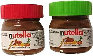 Nutella Spread Mini Jar Christmas Ornaments 1.05 oz Set of 2