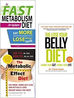 Lose your belly diet and metabolic effect and fast metabolism 3 books collection set