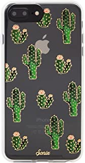 Sonix Prickly Pear Case [Military Drop Test Certified] Protective Clear Cactus Case for Apple iPhone 6 Plus, 6s Plus, 7 Plus, 8 Plus