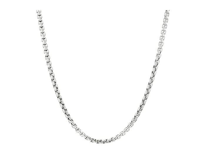 John Hardy  Classic Chain 4 mm. Box Chain Necklace (Silver) Necklace