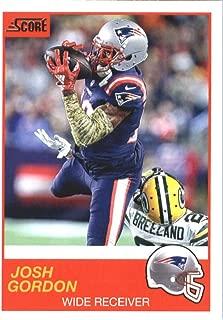 2019 Score #150 Josh Gordon Patriots NFL Football Card NM-MT