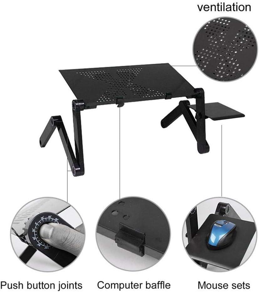 Bureaux d'ordinateur Portable Pliable Portable, Bureau Pliant pour Ordinateur Portable, pour canapé et canapé, B, Maison/Bureau A