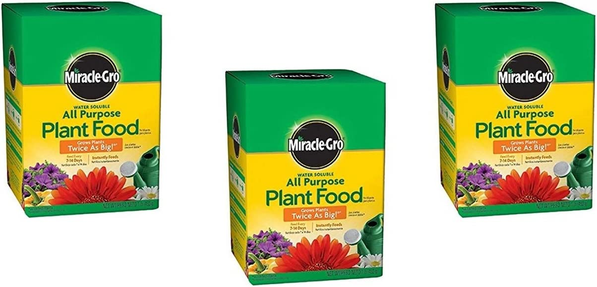 Miracle-GRO In a popularity 160101 Water-Soluble All Food 24-8-16 Plant New Free Shipping Purpose