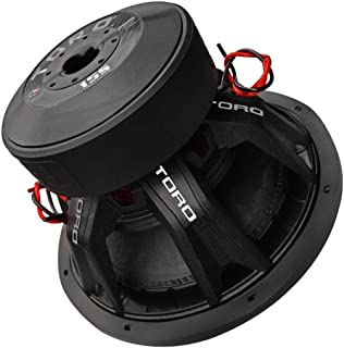 """$359 » Toro Tech – Force15S, 15 Inch 2000 Watts RMS – 4000 Watts MAX – Dual 2 Ohm 3 Inch Voice Coil, 15"""" Car Audio Subwoofer for ..."""