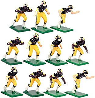 Tudor Games 3-27-D NFL Home Jersey - Pittsburgh Steelers Hand Painted 11 Electric Football Players, Multicolor (Pack of 11)