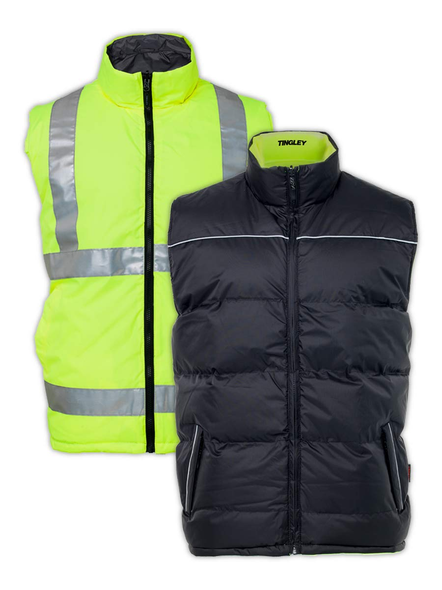 TINGLEY RUBBER V26022 LG Reversible Large Max Very popular! 67% OFF Lime Vest Insulated