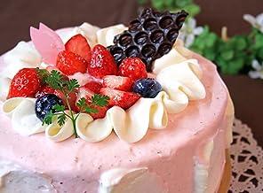 いちご ミルク シフォンケーキ (生クリーム を2段に サンド) 5号サイズ