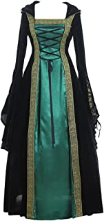 CosplayDiy Women's Medieval Renaissance Retro Gown Cosplay Costume Dress