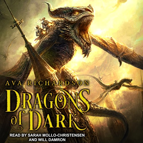 Couverture de Dragons of Dark