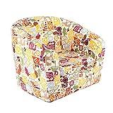 Emall Life Kid's Luxury Armchair Children's Tub Chair Cartoon Sofa Wooden Frame (Owl)