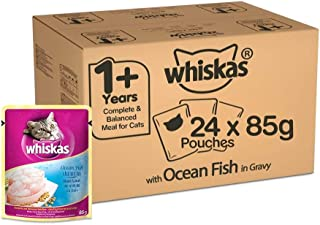 Whiskas Ocean Fish in Jelly, Pouch, 85g x 24