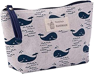 LANGMAN Portable Travel Toiletry Bag Waterproof Makeup Organizer Cosmetic Bag Pouch