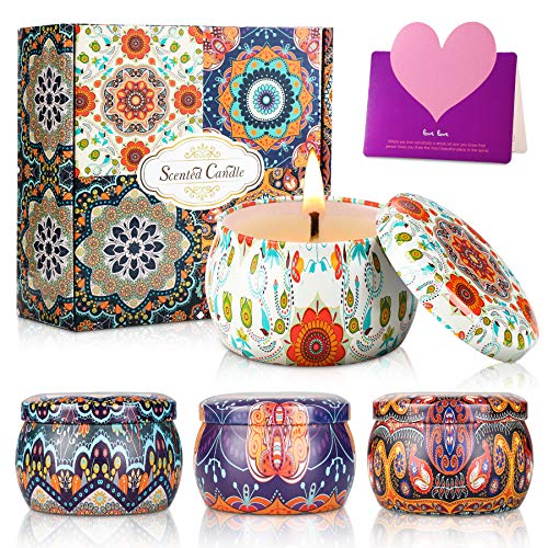 wilbest® Scented Candles Gift Set for...