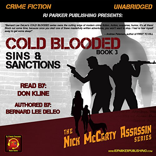 Cold Blooded III: Sins and Sanctions audiobook cover art